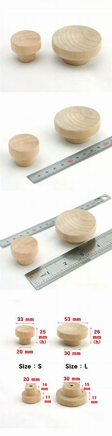 Cabinet Knobs Singapore by Wooden Unfinished Drawer Pulls Kitchen Cabinet Knobs
