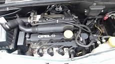 opel meriva a 1 6 8v engine z16se start and sound