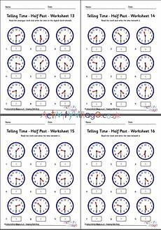 time worksheets to and past 3210 telling time worksheets half past pack 4
