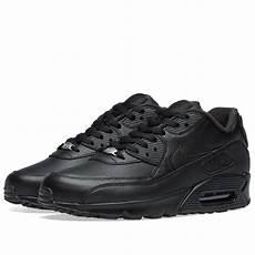nike air max 90 leather black end
