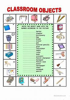 worksheets classroom objects 18220 classroom objects worksheet free esl printable worksheets made by teachers