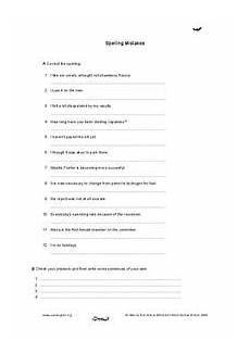 identifying spelling mistakes worksheets 22483 spelling mistakes worksheet for 3rd 4th grade lesson planet