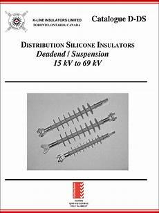 Distributeur K Line Catalogues K Line Insulators Limited