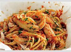 crab spaghetti_image