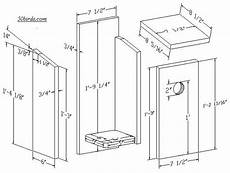 woodpecker house plans nestbox plans and dimensions for red headed woodpecker