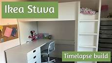 ikea stuva assembly how to build the loft bed in time