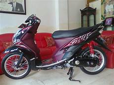 Modifikasi Motor Mio Standar by Top Modifikasi Motor Mio Terbaru Modifikasi Motor