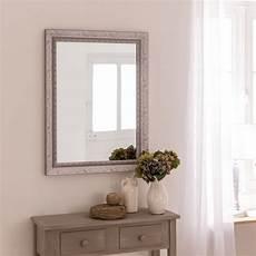 miroir mural miroir louise gris l 50 x h 70 cm leroy merlin