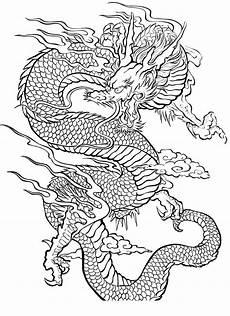 malvorlagen chinesischer drache frische bilder zum