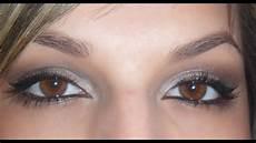 tuto maquillage blanc gris
