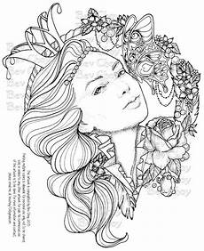 adult coloring page butterfly kisses by bevchoyart on