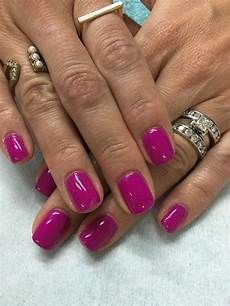fun summer bright pink purple gel nails purple gel nails