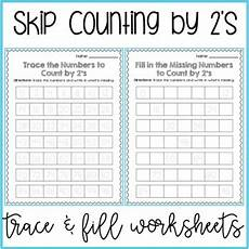 skip counting by 2s worksheets differentiated scaffolded rti