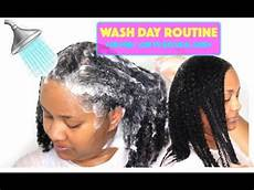 simple wash day routine fine low porosity natural hair 3c 4a hair youtube