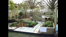 Small Space Rectangular Garden Design