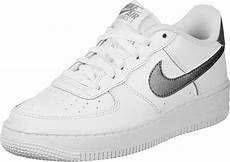 nike air 1 gs shoes white silver