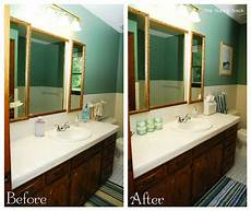 5 easy steps quick bathroom makeover just in time for guests the gunny sack