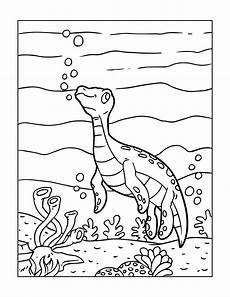 Einfache Malvorlage Dinosaurier Dinosaurier Malvorlagen F 252 R Gro 223 Und Klein Zum Kostenlosen