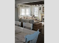 FARMHOUSE 5540 love the painted chairs   Country style