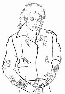Malvorlagen Jackson Michael Jackson Coloring Page Free Printable Coloring Pages