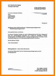 kündigung versicherung vorlage 7 k 252 ndigungsschreiben vordruck cbsadams50