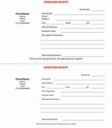 45 free donation receipt templates non profit word pdf