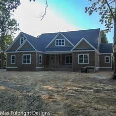 lake house plans with walkout basement craftsman style lake house plan with walkout basement in