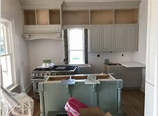 colourful kitchen cabinet install edgecomb gray wythe blue