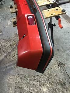 peugeot 205 gti rear bumper valance in condition