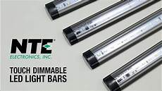 nte s touch dimmable led light bar