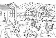 Ausmalvorlagen Bauernhof Ausmalbilder Bauernhof Thema Bauernhof Malvorlagen Und