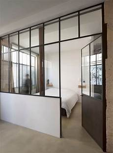 Loft In By Maxime Jansens 15 Bedroom With Glass