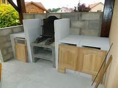 Cuisine Construction D Un Barbecue Sur Mesure Terrasse