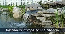 Pompe Et Tuyauterie Pour Cascade De Bassin De Jardin