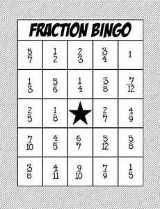fraction bingo worksheets 3859 math fraction bingo adding and subtracting fractions with common denominators