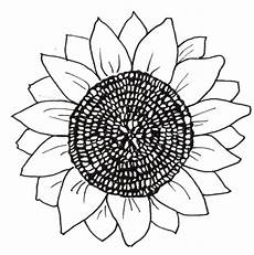 free coloring pages printable sunflower coloring pages
