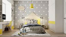 Yellow And Grey Wallpaper Bedroom Ideas by Yellow Rooms How To Use And Combine Bright Decor