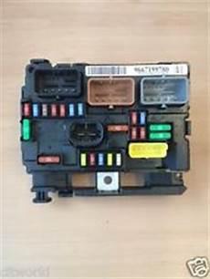 Genuine Citroen C3 Picasso Bonnet Fuse Box Ebay