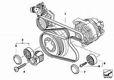 Bmw E46 Engine Drive Belt Diagram by Original Parts For E90 320d M47n2 Sedan Engine Belt