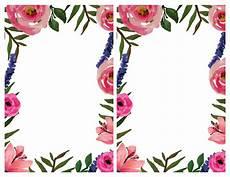 flower card design template floral invitation free printable invitation templates