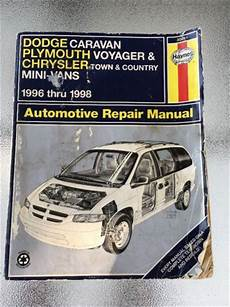 car repair manuals download 1992 plymouth voyager navigation system manuals literature for sale find or sell auto parts