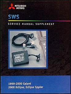 hayes car manuals 2000 mitsubishi eclipse free book repair manuals 1999 2000 mitsubishi galant 2000 eclipse spyder repair shop manual diagnosis supp