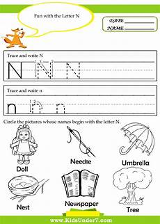 free letter n tracing worksheets 24168 9 best images of free preschool do a dot printables letter n dot marker letters do a dot free