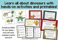 dinosaur unit of work little lifelong learners