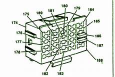 1992 Chevy Silverado Fuse Box Diagram Circuit Wiring