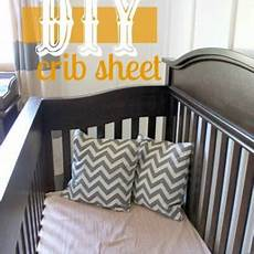 fitted crib sheet tutorial crib bedding tip junkie