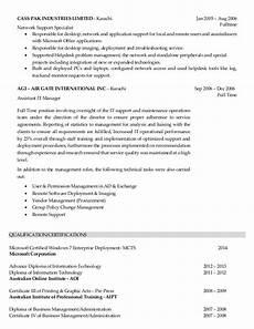resume desktop support engineer