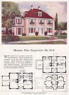 hip roof colonial house plans this is the morgan plan from 1923 and i love it i so