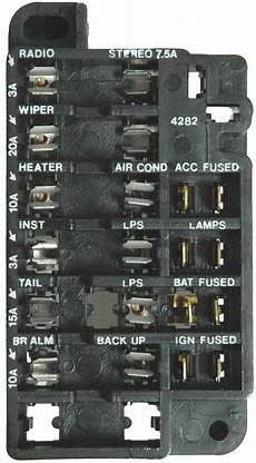 1964 Gm Fuse Box Wiring Library