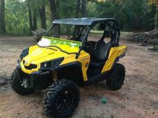 can am commander colored half windshield ebay
